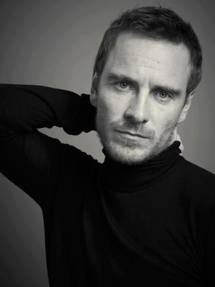 Michael Fassbender... in a turtle neck, I swoon.