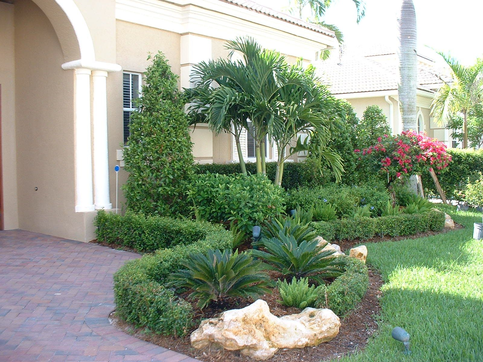 florida homes landscape 50