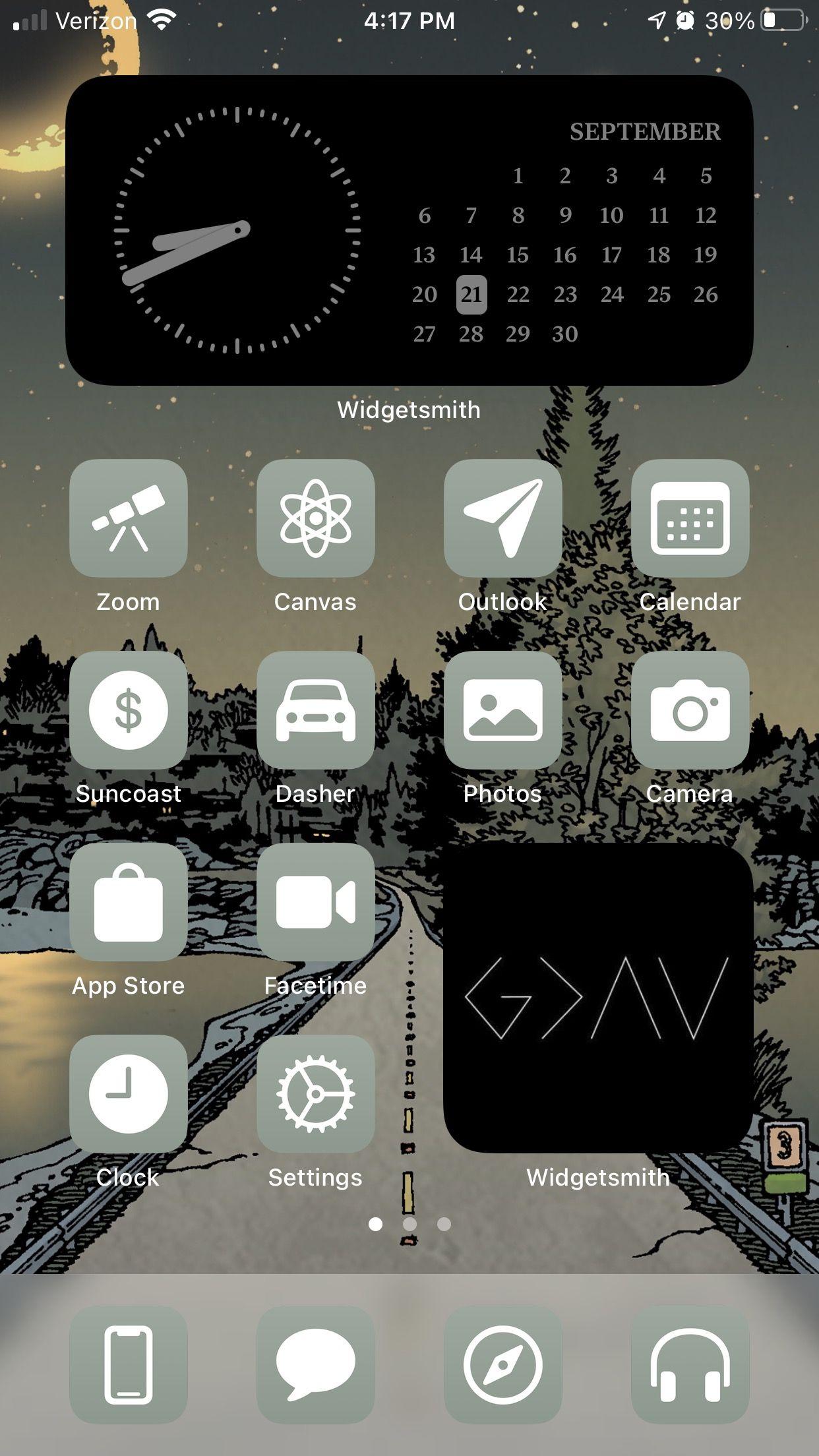Aesthetic Ios 14 Home Screen Ideas Inspiration And Productivity Homescreen Iphone Iphone Wallpaper Ios Homescreen