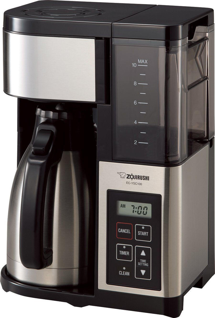 Zojirushi Ec Ysc100 Fresh Brew Plus Thermal Carafe Coffee Maker 10 Cup Stainless Steel Black Learn More By Visiting The Image Link