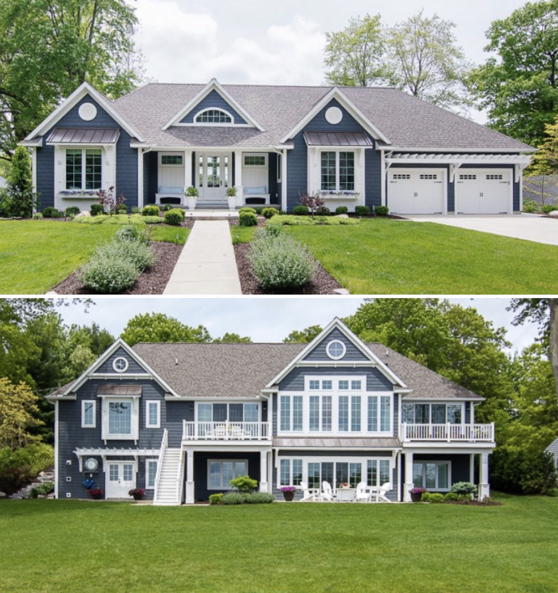Best Vinyl Shake Siding Mastic The Color Is Natural Slate 640 x 480