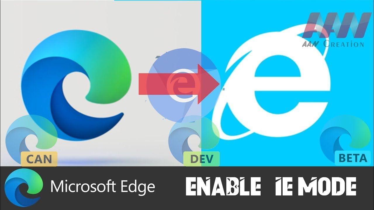 How To Enable Ie Mode In Chromium Version Of Microsoft Edge In 2020 Internet Explorer Browser Microsoft Old Internet