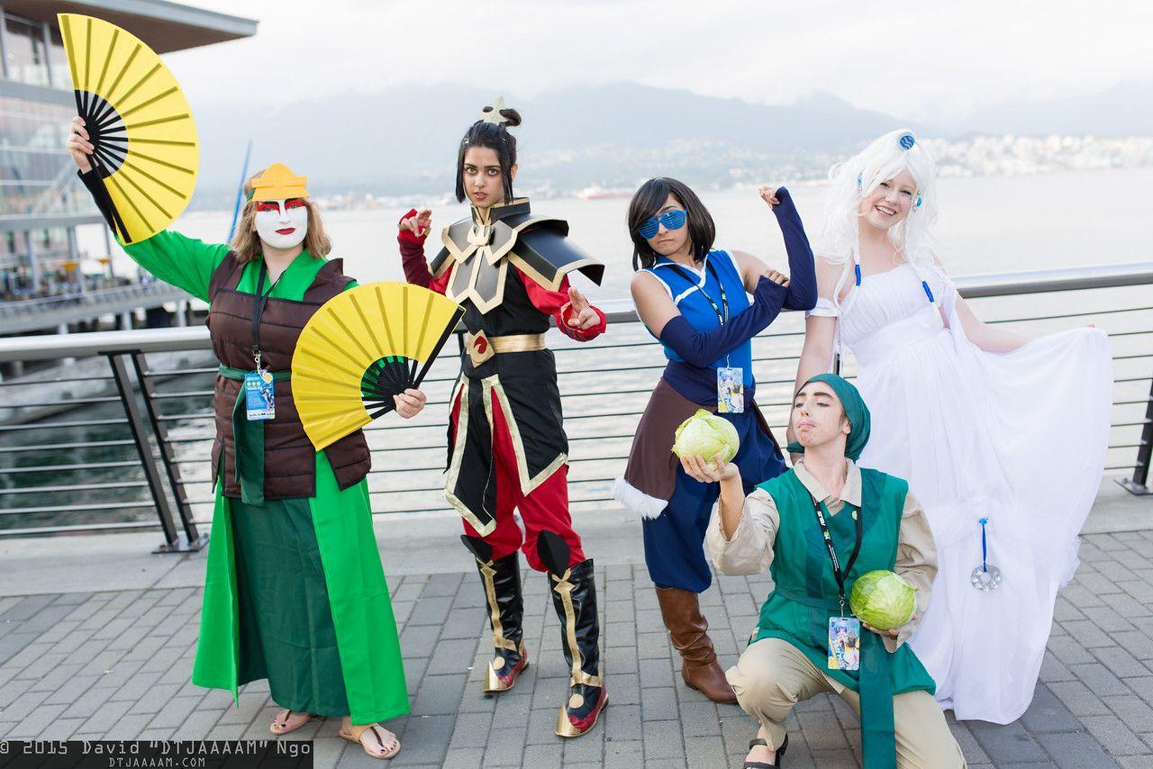 Legend of Korra Suki, Azula, Korra, Cabbage Merchant