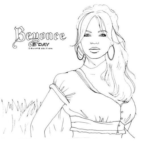 Colour Me Good Beyonce Coloring Pages I Am Awesome