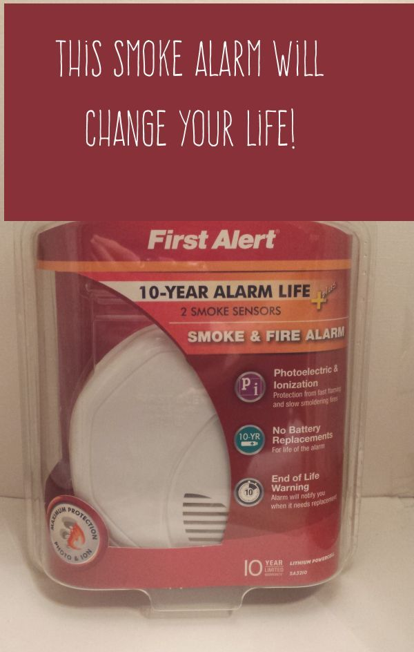 First Alert Smoke Detector Review 10 Year Battery Life Smoke Alarms Smoke Life