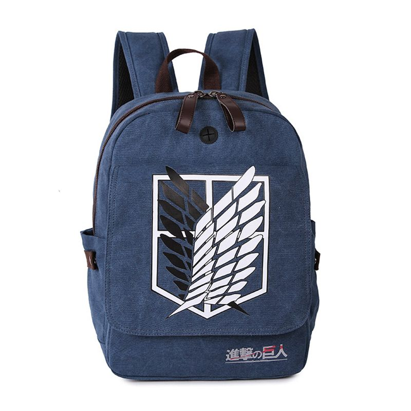 Printing Cartoon Rucksack Shingeki no Kyojin Attack on Titan Cosplay Backpack School Multifunction Canvas Teenagers cosplay Bags #shoes, #jewelry, #women, #men, #hats, #watches, #belts
