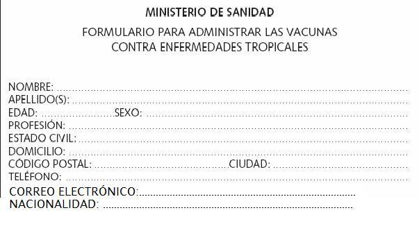 Formularios Fill In A Form In Spanish Espanol Formularios