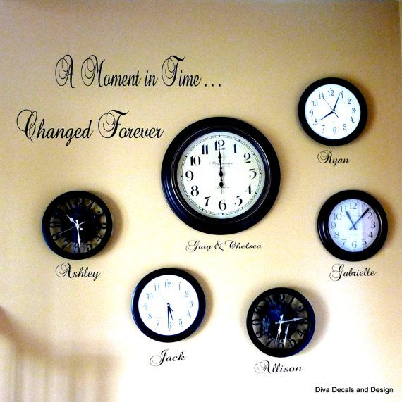 A Moment In Time... Changed Forever Vinyl by DivaDecalsandDesign ...