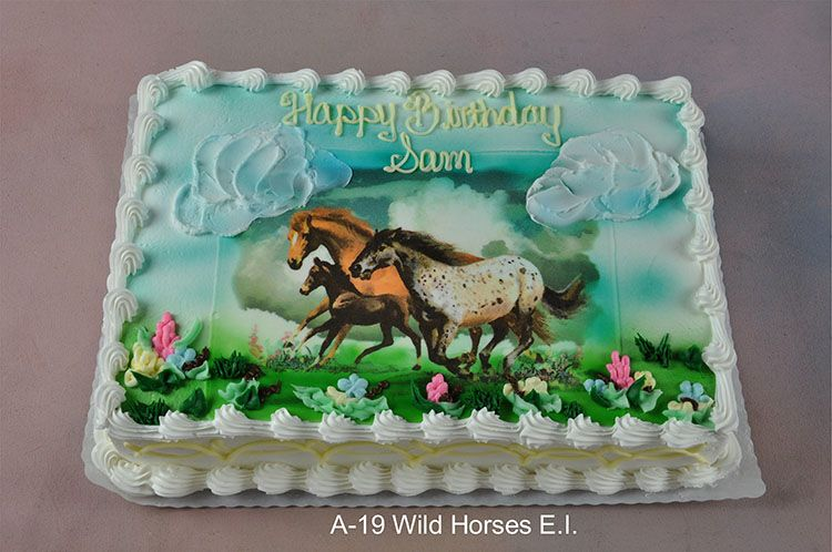Top 10 Wild Horses Birthday Party Cakes Horse Birthday Party