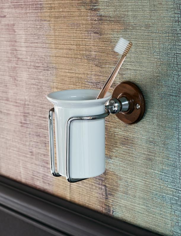 Transform Your Bathroom With Burlington S New Walnut Trim Finish