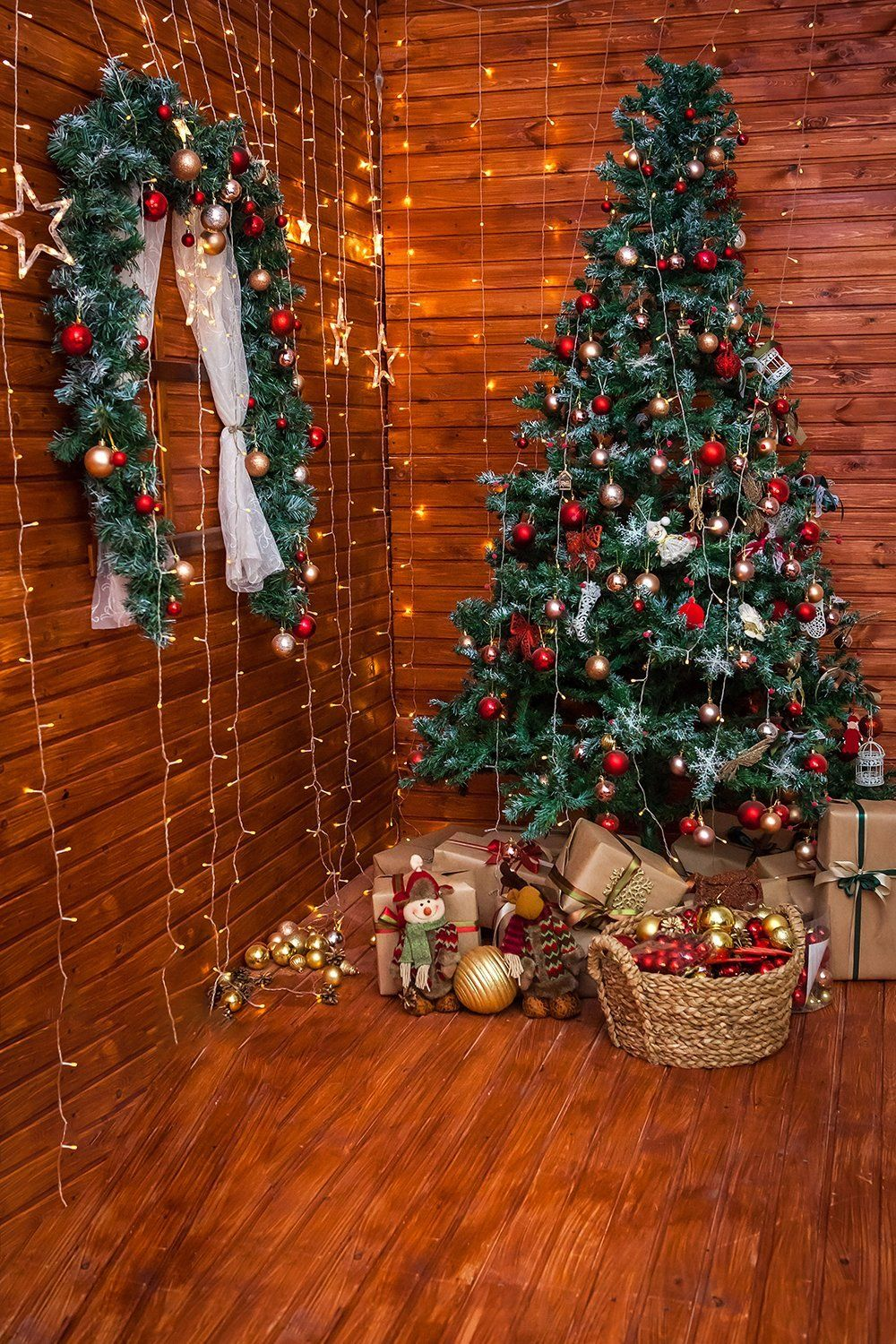 Dbd Christmas Event 2020 Christmas Tree Rom Decor Photography Backdrops DBD P19197 in 2020
