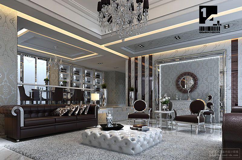 Modern Chinese Interior Design Art Deco Living Room Interior Deco Luxury Interior