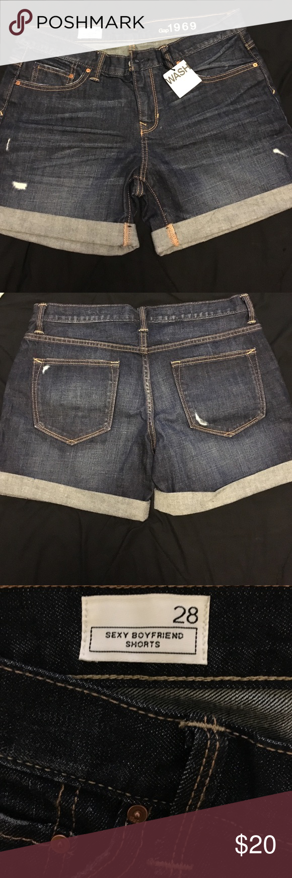 Sexy Boyfriend Shorts Good Condition ! Gap Shorts Jean Shorts