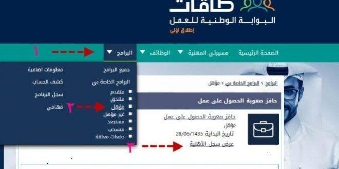 شروط التسجيل في حافز 1439 رابط التسجيل في حافز لأول مرة عبر طاقات البوابة الوطنية Arab News Service