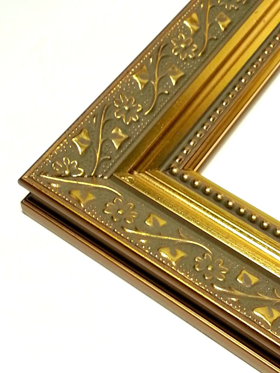 Ornate Gold Picture Frame, Wildflower Motif, Photo Frame Ornate 4x6 ...