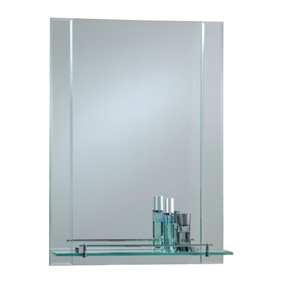 Bathroom Mirror With Shelf Attached