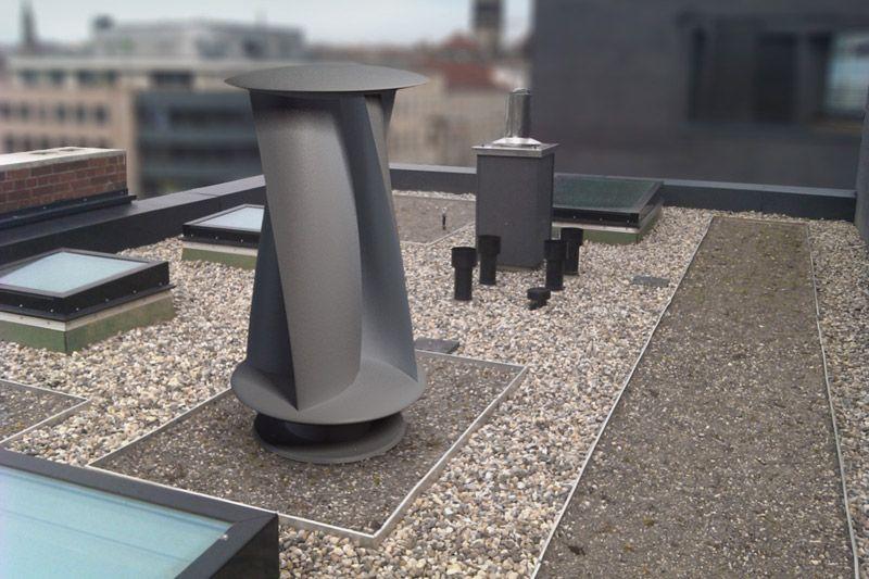 flachdachmontage haus energie pinterest windturbine kleinwindanlagen und windrad. Black Bedroom Furniture Sets. Home Design Ideas