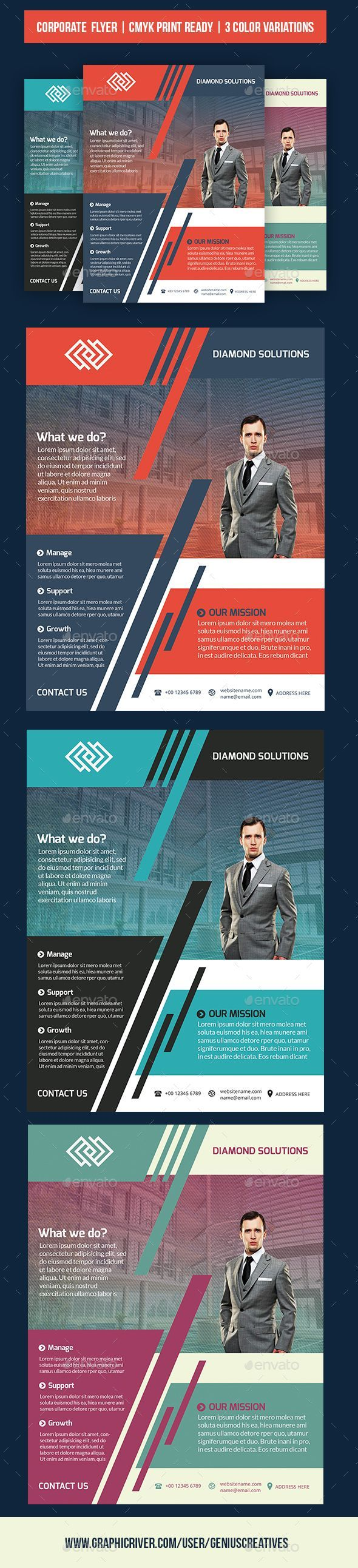 Corporate business flyer by geniuscreatives corporatebusiness flyer corporate business flyer by geniuscreatives corporatebusiness flyer template nice vivid design with a great layout for small businesses startups flashek Images