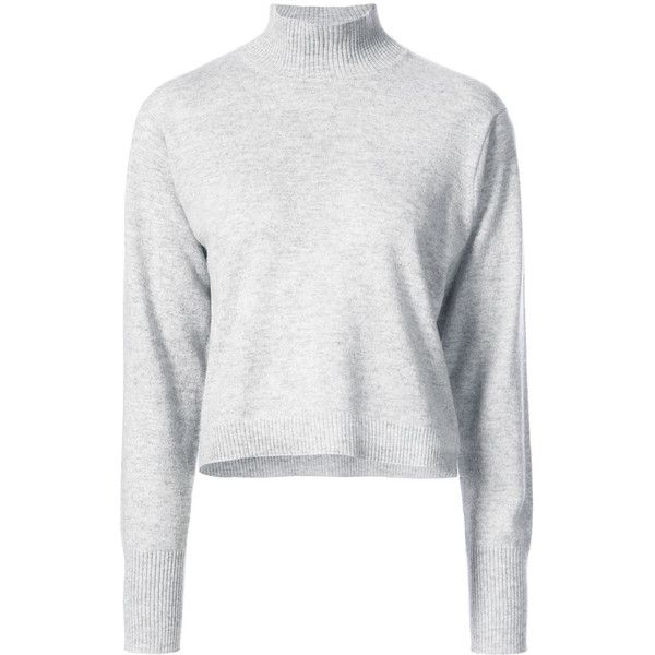 Le Kasha turtle-neck fitted sweater (239.920 HUF) via Polyvore ...