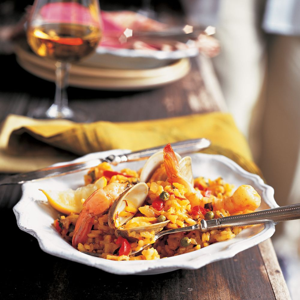 50 Of Our Best Seafood Recipes For Dinner: Paella Recipe, Seafood Paella