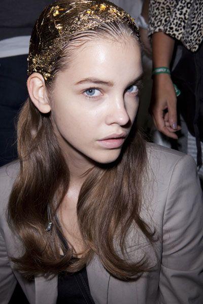 Gold Foil at Topshop Unique SS12 #glossyboxoriginalbeauty