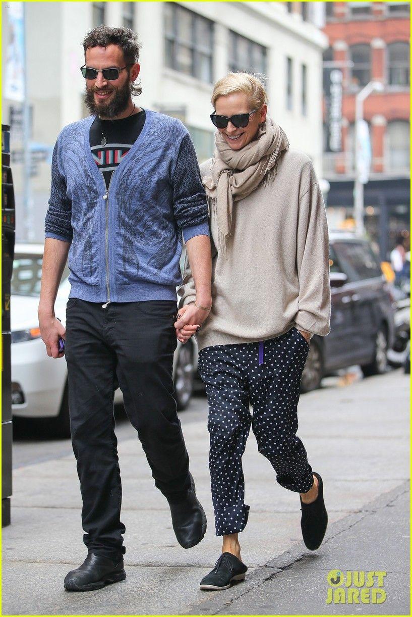 Tilda Swinton Steps Out With Partner Sandro Kopp In Rare Sighting Of Couple In New York City Tilda Swinton Sandro Fashion