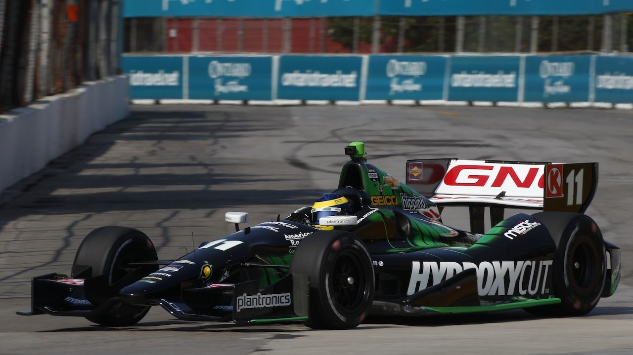 IndyCar Starting Grid Bourdais Takes Pole For First
