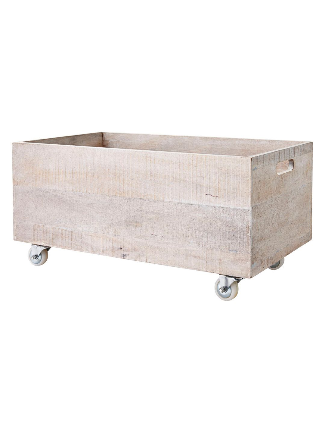 Extra large rolling storage crates u by serena u lily at gilt diy