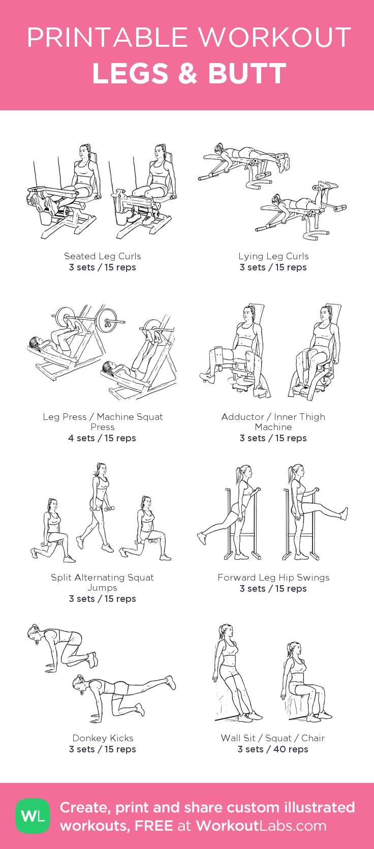 Legs u butt body goals pinterest legs workout and gym