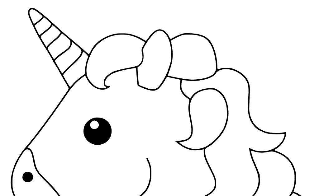 Unicorn Emoji Coloring Pages Emoji Coloring Pages Unicorn ...