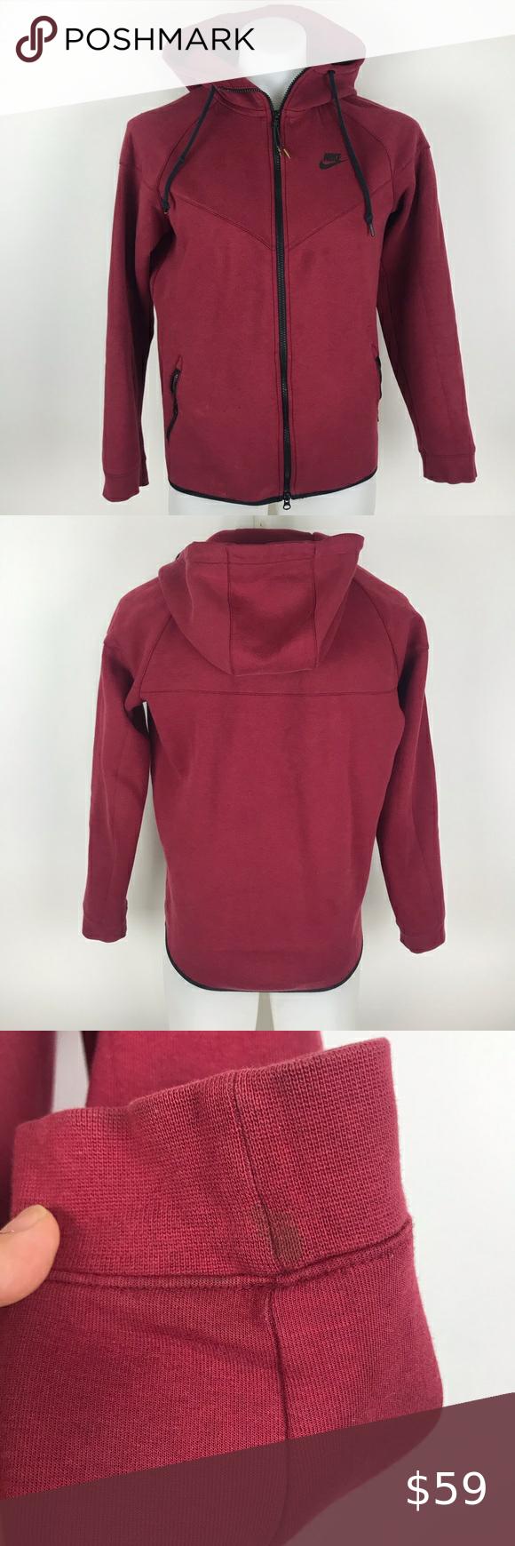 Nike tech fleece windrunner jacket hoodie size M in 2020