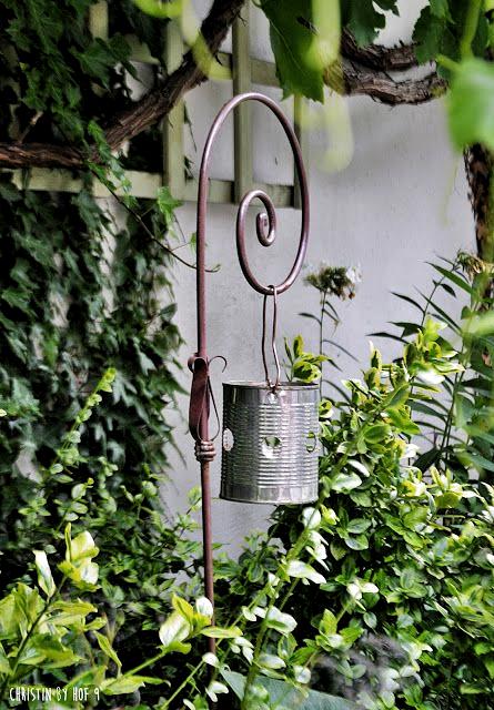 Hof 9 Schnelles Blechdosen Diy In 2020 Blechdosen Vorgarten Gestalten Gartenmobel Design