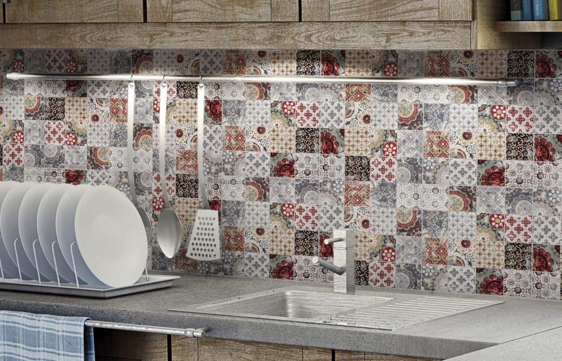 Top 15 Patchwork Tile Backsplash Designs for Kitchen | Kitchen ...