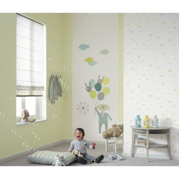 l unique vertical f te foraine bleu et vert collection jules et julie de casad co deco. Black Bedroom Furniture Sets. Home Design Ideas