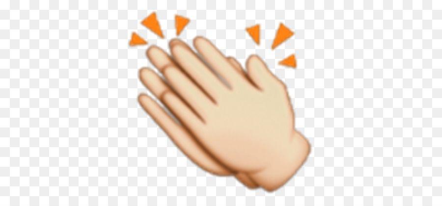 Descarga Gratuita De Aplausos Emoji De La Mano Imagenes Png Aplausos Emojis Para Whatsapp Emoji