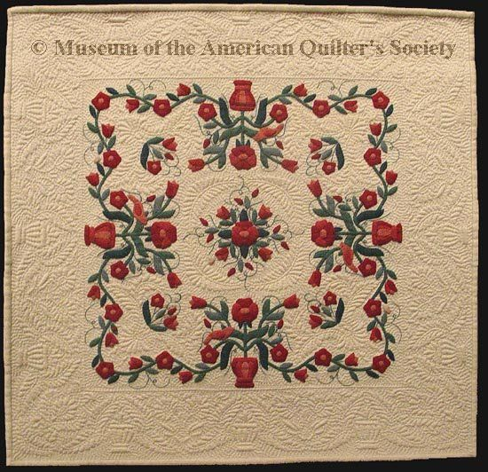Winner of First place in the \'Miniature Quilts\' category at the 2006 ...