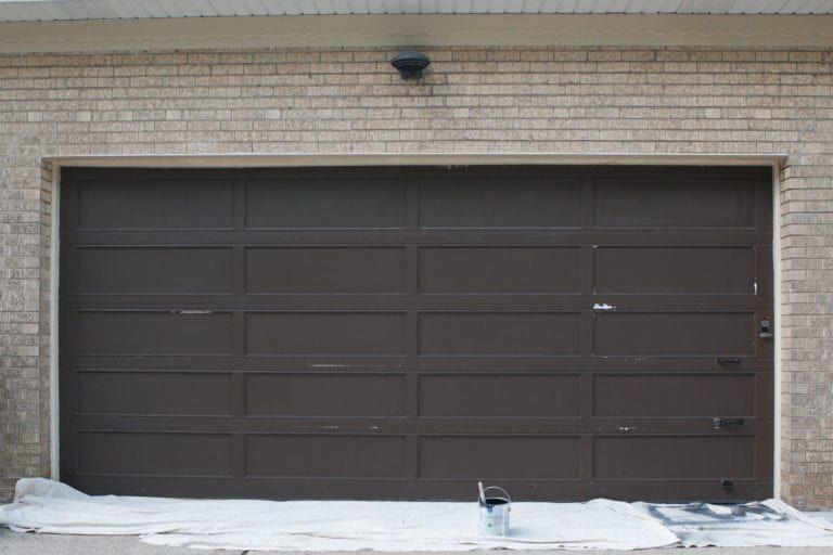 How To Paint A Garage Door Garage Door Paint Garage Doors Metal Garage Doors