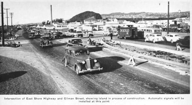 eastshore highway at gilman 1944a