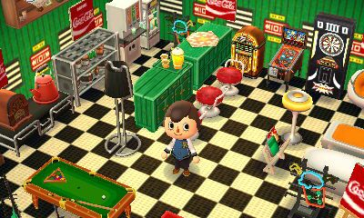 Animal Crossing Diner Themed Room Animal Crossing Animal