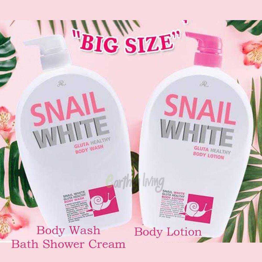27foz Snail White Glutathione Body Lotion Wash Bath Shower Cream Skin Lighten Ebay Snail White Skin Lightening Cream Body Lotion