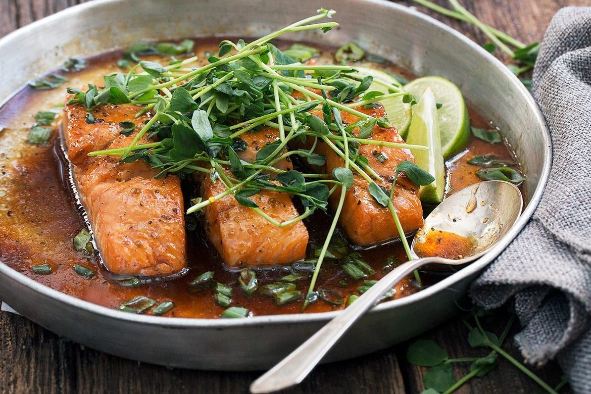 Photo of Vietnamese Inspired Instant Pot Salmon (with oven method too!)