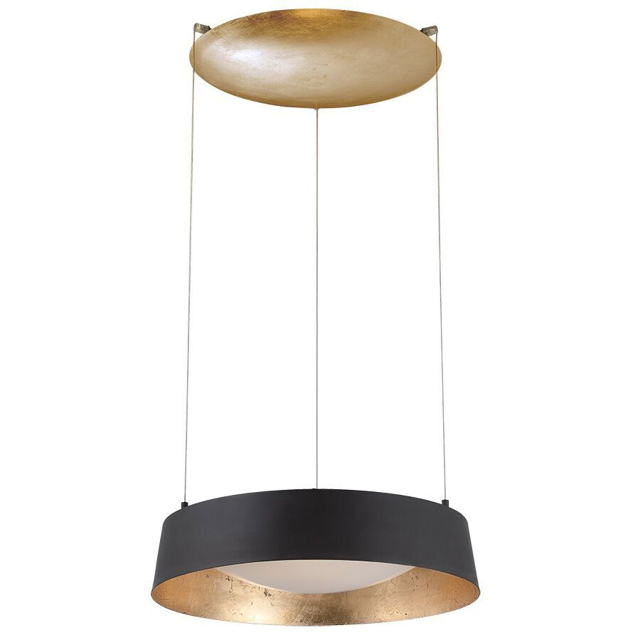 Gilt Up Down Light Suspension By Modern