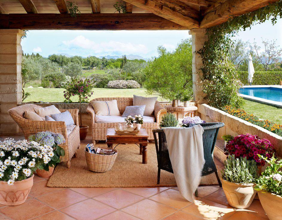 Una Casa En Mallorca Acunada Por El Mar Tacones Diseños