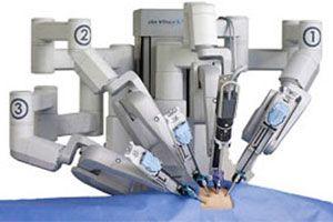 tumor de próstata robótico de vinci de