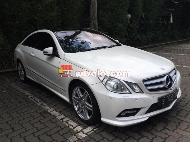 Jual Mercedes Benz E 250 Cgi Coupe 2011 Bisa Over Credit Mobil