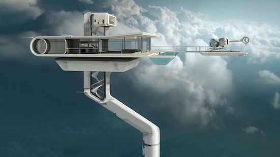 Oblivion movie living set eclat design inspirational for that vacation house 30000ft above