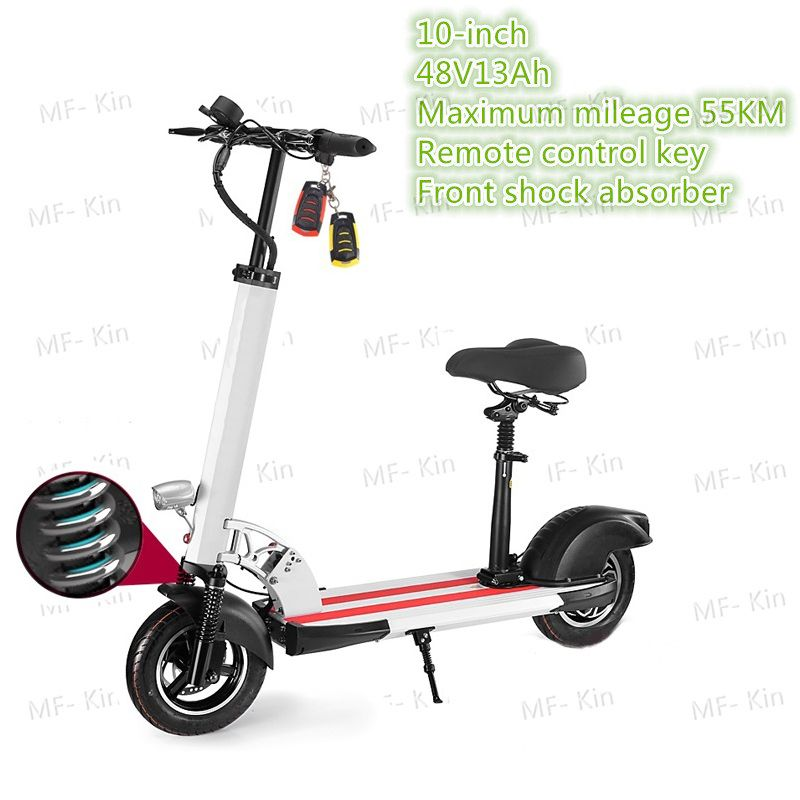 2017 Hot 10 Inch Two Wheel Folding Electric Scooter Bicycle