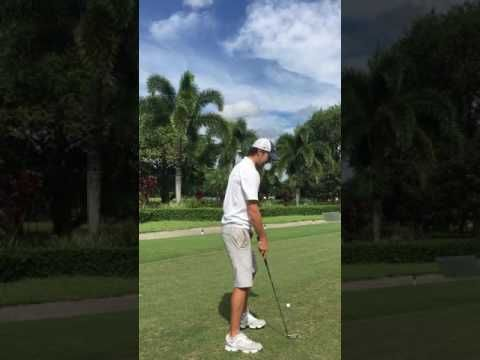 Swing slings golf sit drill - YouTube