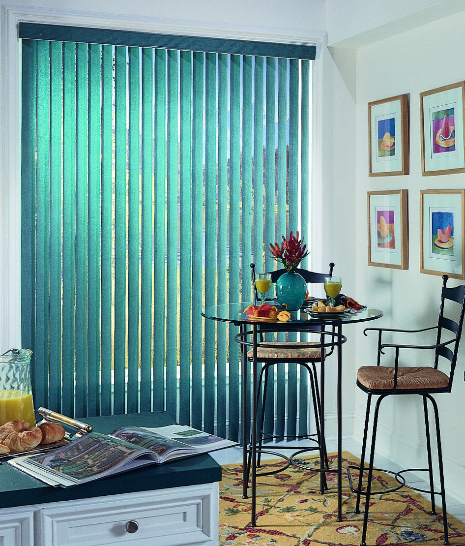 Discount vertical blinds available in a variety of colors still