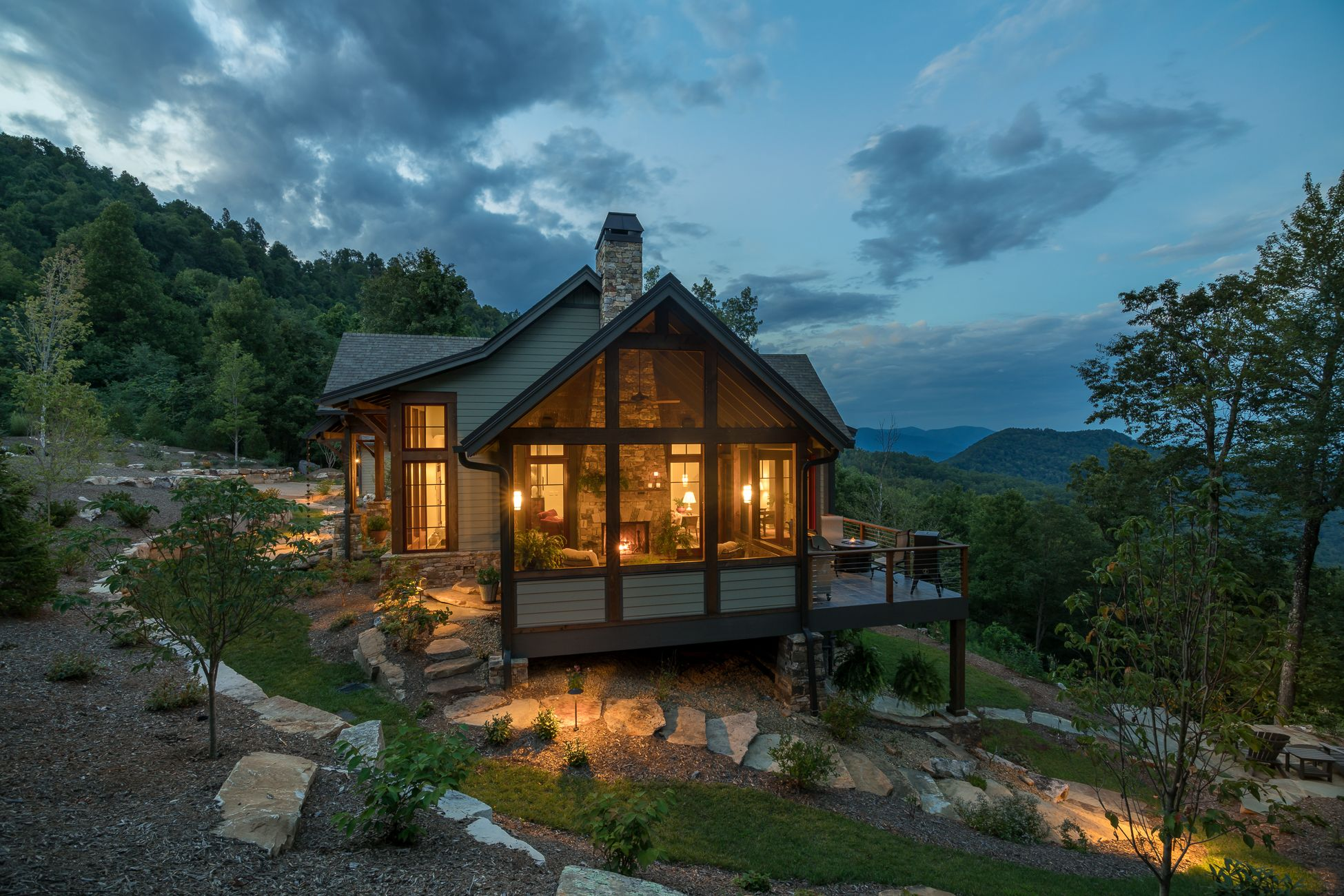 Black Mountain Rustic Modern Farmhouse Acm Design Architecture Interiors Rustic Houses Exterior Mountain Home Exterior Rustic House